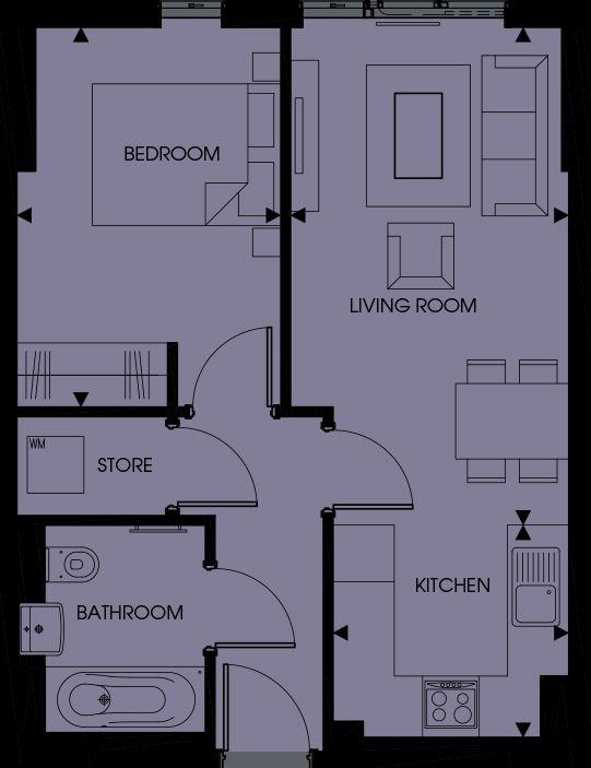 Pinnacle Apartments, Croydon, London, CR0 2GF - DPR